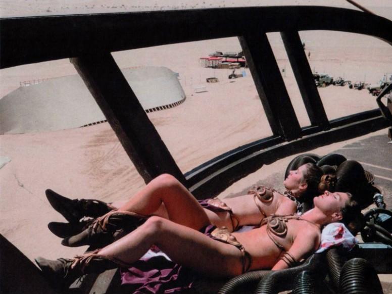 Det hjalp helt sikkert ikke på humøret til Peter Mayhew  å se dette når han subbet rundt i et illeluktende Chewbacca-kostyme