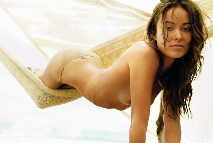 Olivia Wilde Topless at the Beach