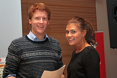 Martin Henriksen og Kristina Torbergsen  (Troms Arbeiderparti, via Flickr)