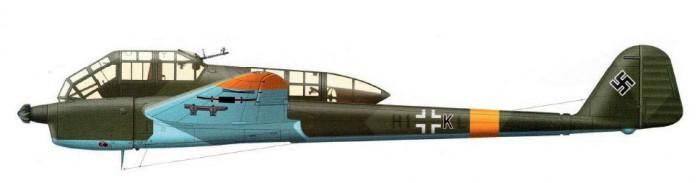 En Fw 189 fra østfronten i 1943