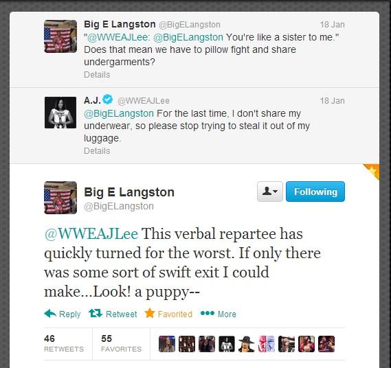 Ikke se for deg Big E i g-strengen til AJ, om du klarer...
