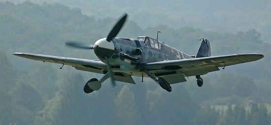 Det finnes nemlig ikke så mange flygedyktige 109'er igjen. Denne G-6 modellen opereres av det britiske Battle of Britain Memorial Flight