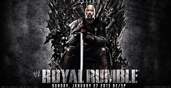 Brace yourself, Rumble is coming (WWE)