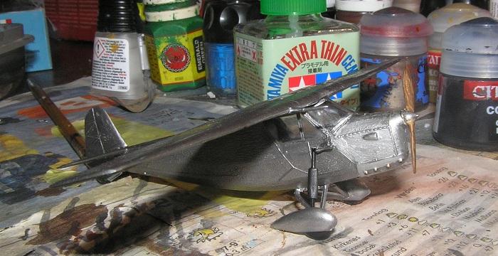 RWD-flyet jeg bygger nå er det f.eks. ingen vestlige eller asiatiske produsenter som har i kit-form.