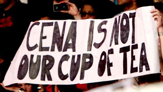 Publikum skal ha for forsøket i alle fall (WWE)