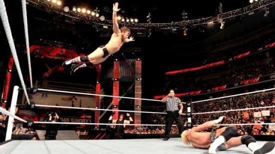 Snikende hobo, flygende geit (WWE)