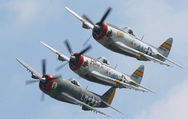 Det finnes en lang rekke restaurerte P-47er i flygedyktig stand.