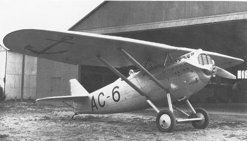 Dewoitine D.21 - modellen Skoda D.1 tok utgangspunkt i.