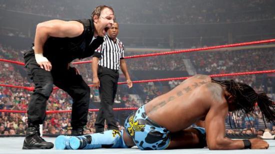 Hah! Hopp deg ut av denne knipa, Lille Skutt! (WWE)