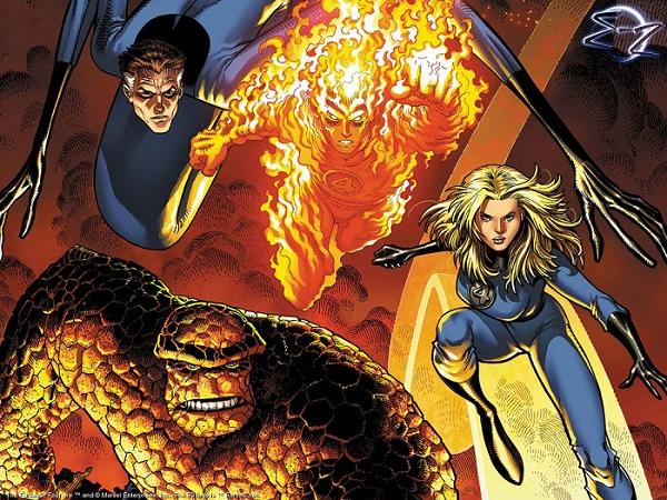 Jessica Alba og Chris Evans fra Fantastic Four.  Ser du familielikheten?