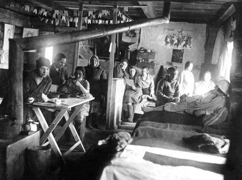 Bilde fra et sovjetisk gulag