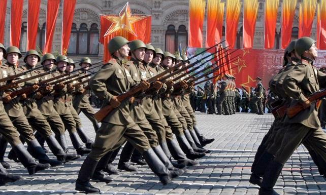 1. mai paraden i Moskva i fjor