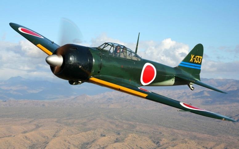 En av de få Zeroene som fortsatt er flygbare. De fleste har erstatte de japanske motorene med amerikanske erstatninger som er lettere å finne deler til.
