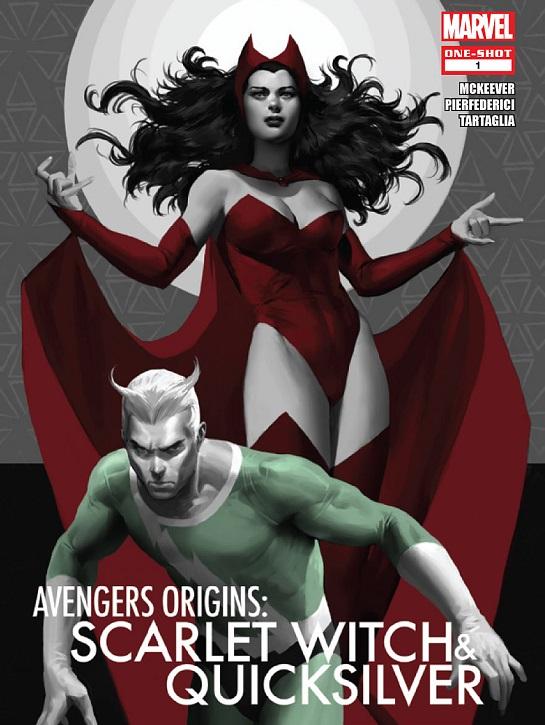 Pietro & Wanda Maximoff (Marvel)