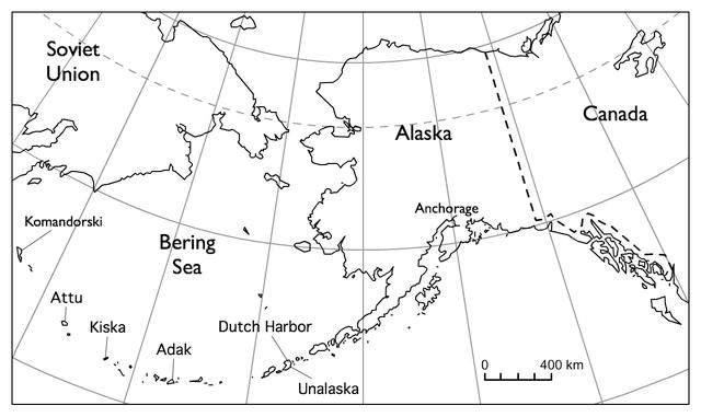 Attu og Kiska var de to øyene japanerne okkuperte