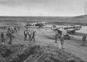 Flyplassen på Umnak - Bygget i 1942