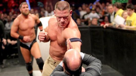 Det var ett eller annet jeg holdt på med, men jeg er ikke kar om å huske hva det var... (WWE)