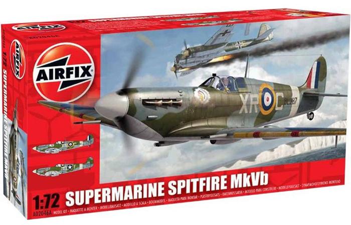 Den oppgraderte versjonen av boksen er i stil med de nye setteten fra Airfix (Airfix)