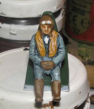 Løytnant, senere Kaptein Dominic Gentile fra Piqua i Ohio.