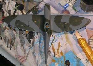 RAF Temperate Land Scheme - Pattern No. 1 (Daytime Fighter - Late War).