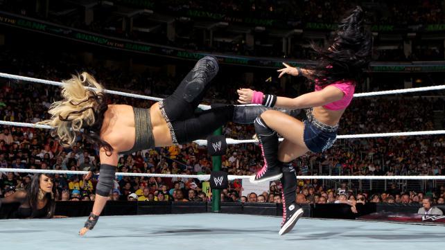 En Diva-match som ikke er blant de to svakeste på kortet, bra! (WWE)