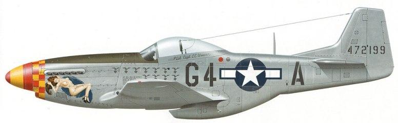 """P-51D Mustang """"Moose"""" 362nd FS, 357th FG, 8th AF, USAAF"""
