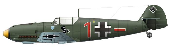 Bf109-E  fra 1939.