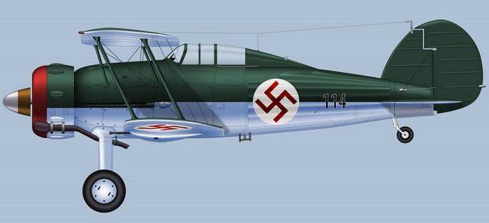 Latvisk Gloster Galdiator (© Clavework Graphics)