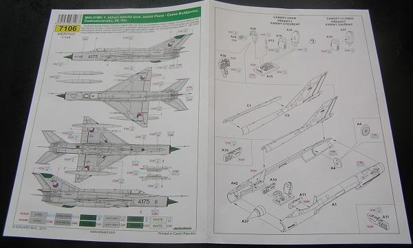 Instruksjonsarket, forenklet ned til et A4-ark, men trykket i farger!