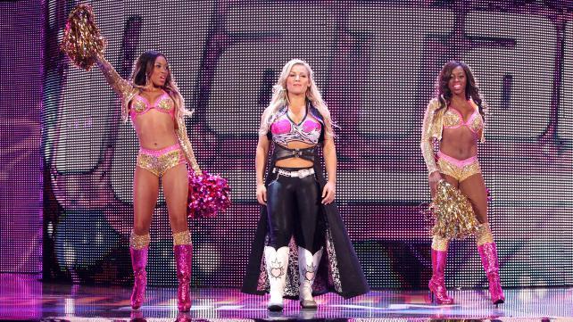 Når hadde Natalya en PPV-kamp sist?  Må ha vært før fjerte-gimmicken og Khali... (WWE)