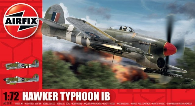 Hawker Typhoon Mk. IB set A02041 (Airfix)