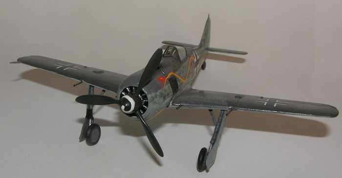 """Black 11"" Jagdgruppe 10, Parchim luftplass, Tyskland, høsten 1944."