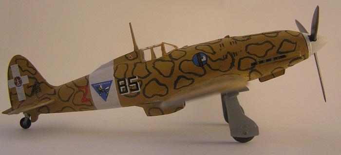 """""""85-2"""" 85 Squadriglia, 18 Gruppo, 3 Stormo Caccia Terrestre - Tunis Januar 1943"""