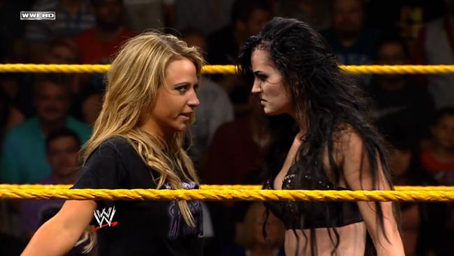 """Paige er kanskje """"Hell in Boots"""" og """"The Antidiva"""", men Emma kommer tross alt fra verdens farligste land: Australia (NXT/WWE)"""