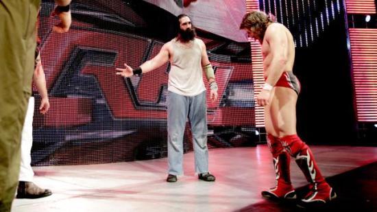 """Kom Daniel, så går vi hjem... "" (WWE)"