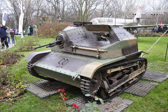 En restaurert TKS på det polske militærmuseet (Wikipedia)