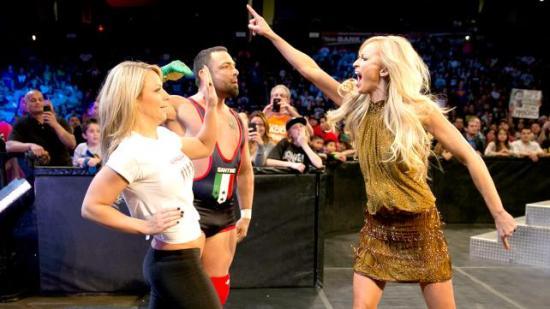 """""""Ouuu,  sååå sinna damen var da?"""" (WWE)"""