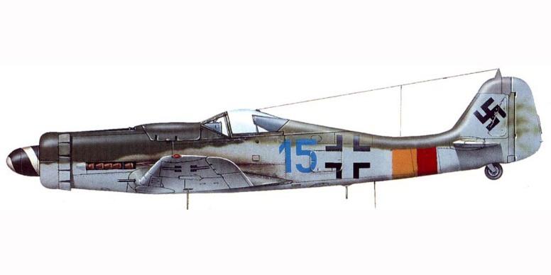 "A profile of ""Blue 15"" from 8./JG301 (source: www.asisbiz.com)"