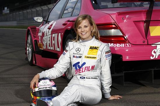 Racerfører (Her Susie Wolff i DTM) (Bilde: Daily Telegraph)