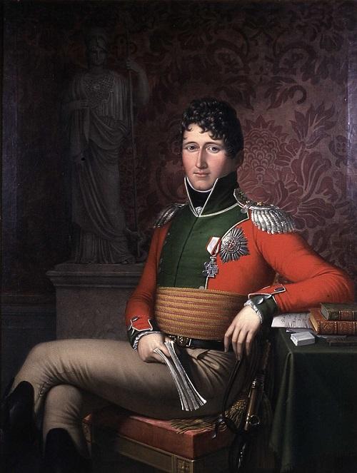 Prins Christian Fredrik - maleri av J.J.Lund 1813 (wikipedia)