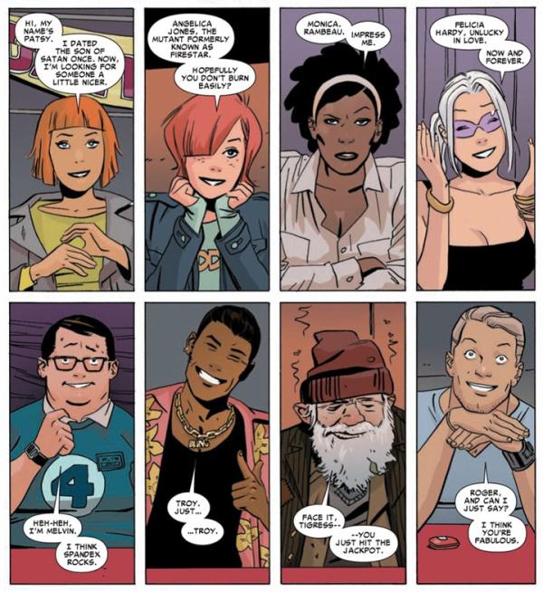Marvel Divas,  langt bedre enn sitt rykte (men nå er jo jeg veldig sak for meta-superserier...)