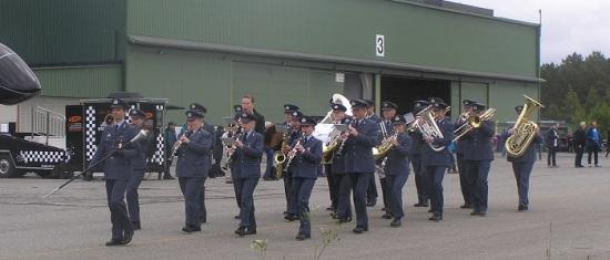 Standsmessig åpning ved Luftforsvarets musikkorps