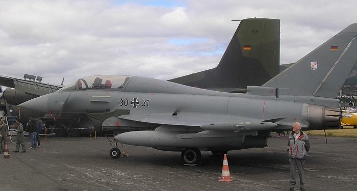 Tysk Eurofighter Typhoon