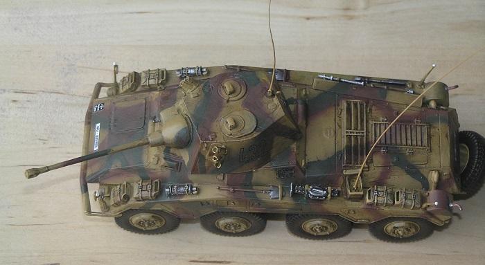 Pumaen var ikke akkurat liten, den var større en mange lette tanks.
