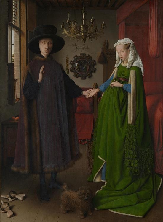 Arnolfini Portrait (1434( Jan van Eyck