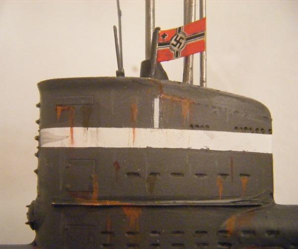 Tårnet derimot...  Lgg merke til flagget som er et salig lappeteppe av dekaler!