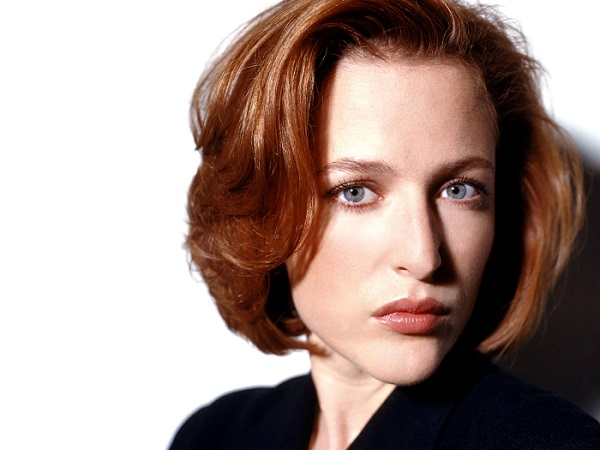 Dengang da: Gillian som Dana Scully i 1993