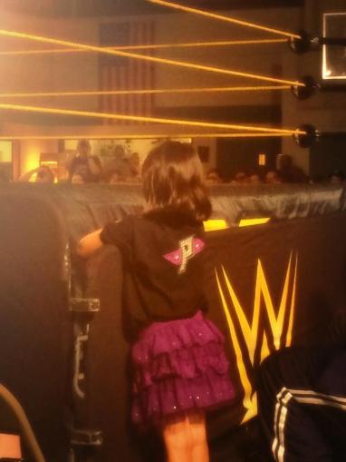 """Rosa foldeskjørt: Sjekk.  Paige """"Think Again"""": Sjekk Da kan showet bare starte!  (via Twitter)"""