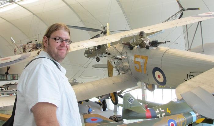 """Stort spredning i """"History of Flight"""" hangaren:  Fra gondolen til luftskipet """"Nulli Secundus"""" (1907)  til en statisk modell av F-35 (2017)"""