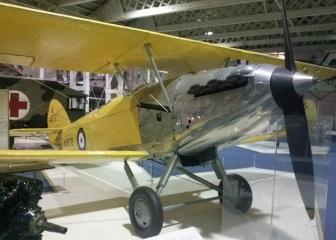 En mellomkrigsmaskin: Hawker Hart Trainer.
